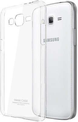 Memore Ultra Thin Slim Crystal Clear Transparent Soft Gel TPU Case Cover for Samsung Galaxy Core Prime G3608  available at amazon for Rs.110