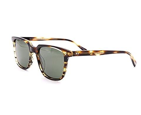 EyeGlow Vintage Square Sunglasses Men and Women Polarized Lens S6501 Acetate material (Tortoise vs green polarized lens)