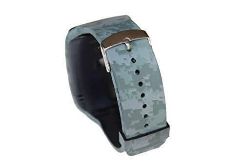 SUPTG Digital Replacement Band Strap for Samsung Gear S Smartwatch With Classic Buckle