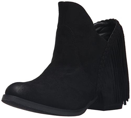 Not Rated Braxton Damen Rund Stoff Mode-Stiefeletten Black
