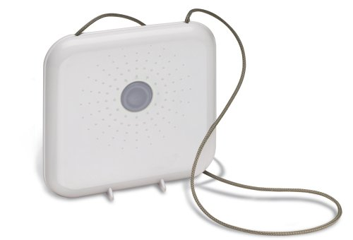 REFLECTS Design Duschradio mit grauer Kordel CESENA Weiß