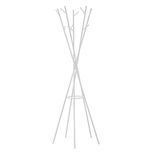 Cribel air appendiabiti, metallo, laccato bianco, 58x58x168 cm