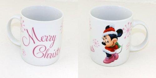 1x Disney Minnie Mouse Tasse Becher Weihnachten Kaffebecher Porzellan NEU