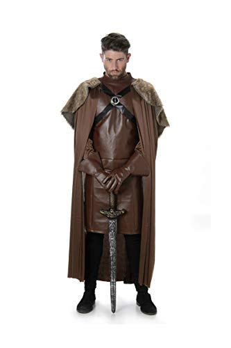 Karnival Costumes Costume médiéval de Chevalier Guerrier Game of Throne pour Homme