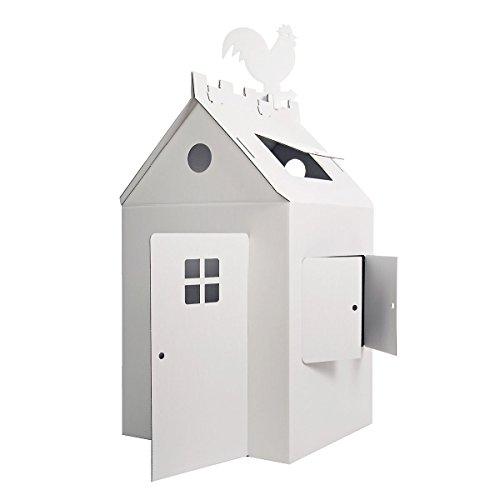 Das große Papphaus - Malhaus - Spielhaus