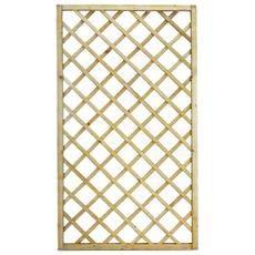 Traliccio rettangolare legno materiale trattato arredo giardino 150x180cm bd-02255