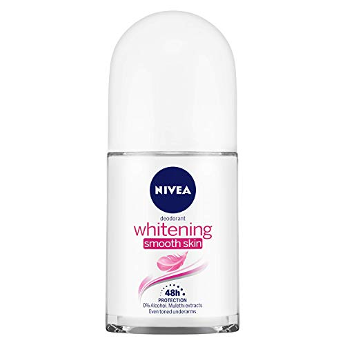 Buy NIVEA Deodorant Roll-on, Whitening Smooth Skin, 50ml online in India at discounted price