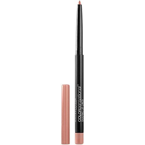 Maybelline New York Color Sensational Lippenkonturenstift Shaping Lip Liner Nr. 10 Nude Whisper, 1er Pack (1 x 1 Stück)