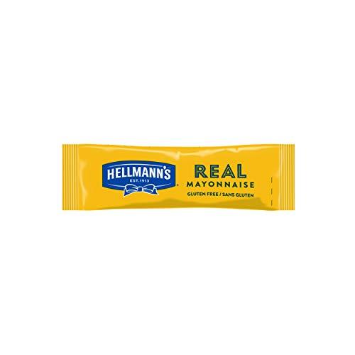 Hellmann\'s Real Mayonnaise Portionsbeutel (mit Eiern aus Freilandhaltung) 1er Pack (198 x 10ml)