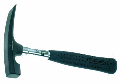 Peddinghaus 5235050000 Maurerhammer mit Stahlrohrstiel