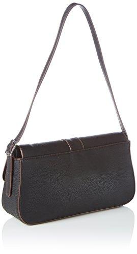Tamaris DIKI Baguette Bag, Baguette donna Nero (Nero (Black 001))