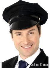 Chauffeur Mütze Karneval-Zubehör (Kostüme Unauffällig Halloween)