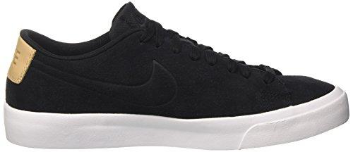 Nike Blazer Studio Low, Sneakers Basses Homme Noir (Black/black-vacchetta Tan-white)