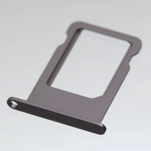Tiroir Support Carte Nano Sim pour iPhone 5S Gris Sidéral Noir Space Grey