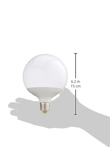 EMOS LED Glühlampe Classic Globe 18W E27 warmweiß, Glas, 18 W, Transparent, 12 x 12 x 16 cm