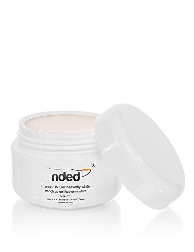 NDED - Gel uv French heavenly white 15 ml