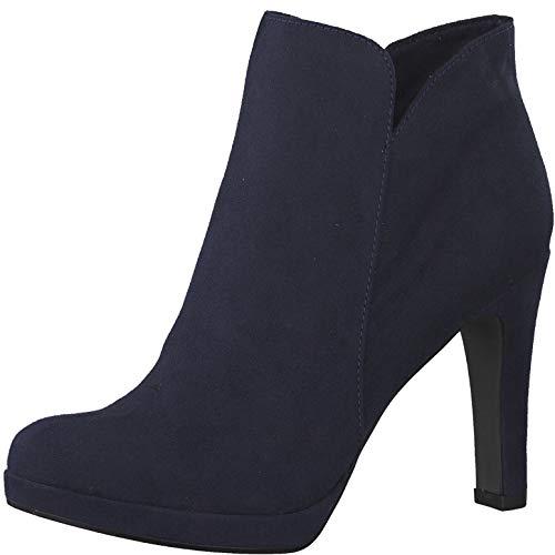 Tamaris 1-1-25316-22 Damen AnkleBoot,Stiefel,Halbstiefel,Bootie,hoher Absatz,sexy,feminin,Touch-IT,Navy,40 EU - Bootie Navy