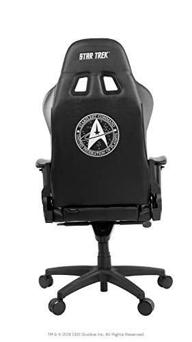 Arozzi AROZZI-VV2-ST-BK Star Trek Edition, Black, Large