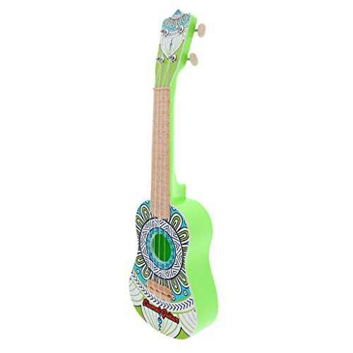 B Blesiya Hawaii Gitarre Ukulele Musik Spielzeug mit 4 Saiten, 22 Zoll - Stil C