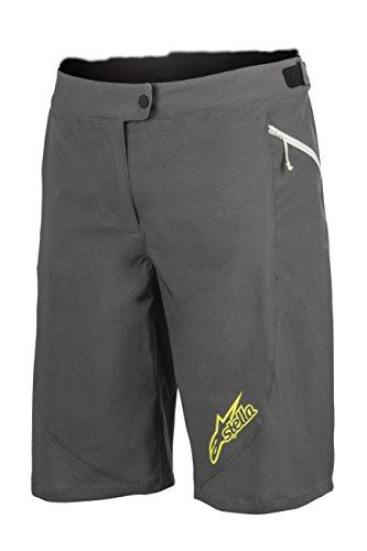 Alpinestars Stella Pathfinder Shorts, Damen, Dark Shadow Acid Yellow, 30 -