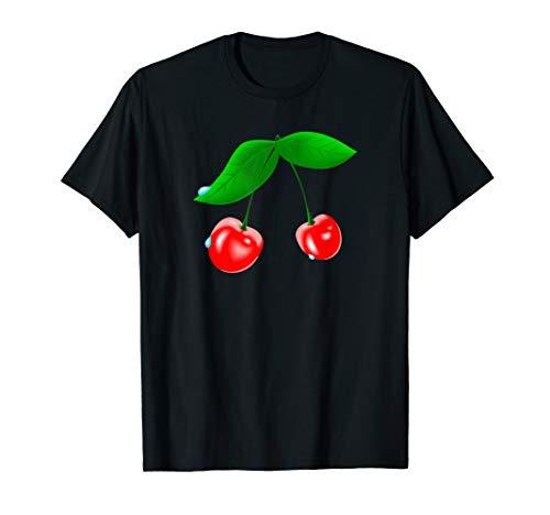 Rote Kirsche T-Shirt Cherries Kirschen Cherry
