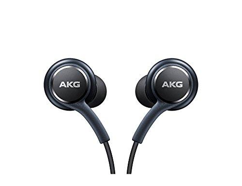 Originale Samsung AKG Head Set EO ig955Cuffie Auricolari Stereo InEar per Samsung Galaxy S9S9Plus S9Duos S9Duos + S8S8Plus S8Active S7S7Edge S6S6Edge A82018A8Plus Note 8Nero