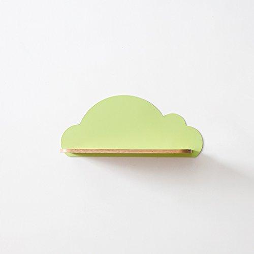 GYP Étagère, tablette en bois massif en chêne blanc en fer Imitation en bois sur le mur TV fond décoration murale meubles de salon L30cm * W10cm * H13cm acheter ( Couleur : B )