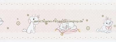 00095 Katze Bordüre selbstklebend von Kindertapete Kids @ Home 3 bei TapetenShop