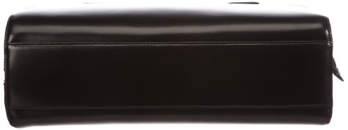 Otto Kern Milano 3 Elegance, Borsa a mano unisex adulto, 45x35x17 cm (L x A x P) Nero (Schwarz (Black))