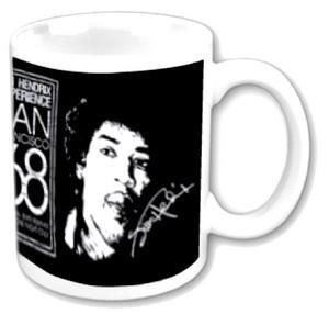 Jimi Hendrix '68 (Mug) Tasse im Geschenkkarton -