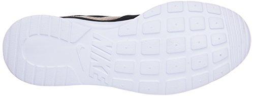 Nike Ladies Tanjun Scarpe Da Ginnastica Nere (nero / Oro Metallizzato 004)