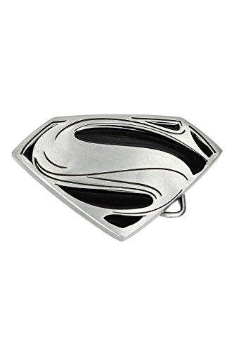 Superman, Man Of Steel Logo Buckle con cintura