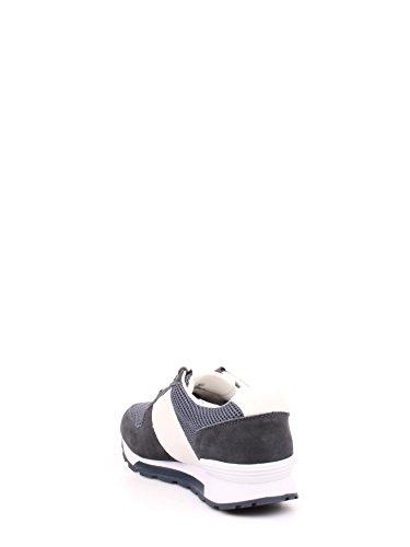 Calvin Klein Dusty Mesh/Washed Nubuck/smoot, Sneaker Basse Uomo Blu