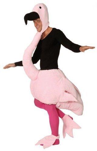 Flamingo (Overall und Fußstulpen) - Größe: ()