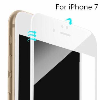 iPhone 7Protector de pantalla (3d cristal), dtrigigo iPhone 73d cobertura completa vidrio templado Protector de pantalla para Apple Iphone 7, 2016Nuevo iPhone 7