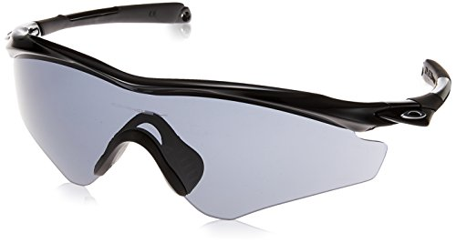 Oakley Men's (a) M2 Frame XL OO9345-01 Shield Sunglasses, Polished Black, 145 mm