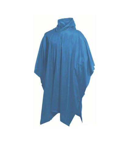 Highlander Unisex Poncho, wiederverwendbar Blau - Blau