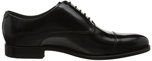 Barker Winsford, Richelieus Homme, Noir Black (Black Polished)