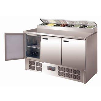 Polar G605 3 Door Salad/pizza Prep Counter Test