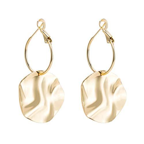 ropa und Amerika Disc Anhänger Legierung Ohrringe Ohrringe Schmuck Geschenke ()