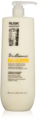Rusk Sensories Brilliance Grapefruit and Honey Color Protecting Leave-In Cream Conditioner 1000ml