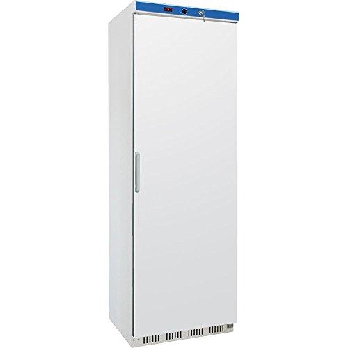 Gastro Gewerbekühlschrank Lagerkühlschrank- weiß - Gastro Kühlschrank 400L mit Volltüre - Auto Abtauung - Digitales Thermostat - abschließbar -