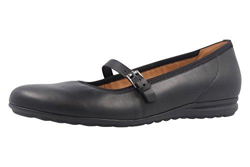 Gabor Shoes Comfort, Ballerine Donna, Nero (Schwarz 57), 43 EU