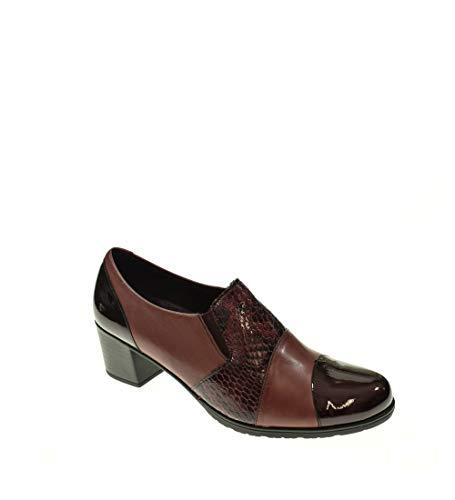 Zapato Tacon - Mujer - Burdeos - pitillos - 5244-40