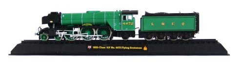 Class 'A3' No. 4472 Flying Scotsman - 1923 Diecast 1:76 Scale Locomotive Model (Amercom OO-3) 9788373850347