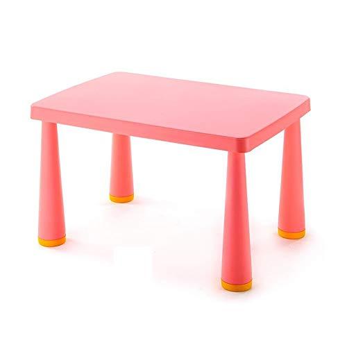 Tische CJC Tabelle Aktivität Abspielen Kinder, Lernen Picknick Tabelle, Süß Schlafzimmer Möbel Kinder Spielzimmer/Kindertagesstätte/Vorschule (Farbe : Red)