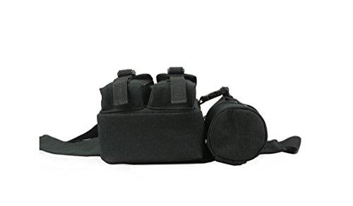 Outdoor peak Oxford Tarnung Herren Damen Hüfttasche Gürteltasche Bauchtasche Brusttasche Sport für Handy Schlüssel Geldbörse (Farbe 3) Farbe 4