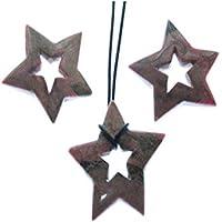 Rhodonit 1 Doppelstern mit sternförmiger Bohrung Größe ca. 4.5 cm Sein Gewicht 10 bis 13 g. preisvergleich bei billige-tabletten.eu