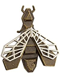 Knighthood Antique Bee Wing Lapel Pin/Brooch For Men