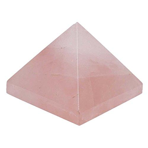 Harmonize quarzo rosa piramide reiki cura cristalina tavola espiritual decorazione feng shui regalo bolsa de regalo negro rose (quarzo rosa)